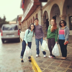 Ms. Elena Aniel, Luiz Machado, Jazmin Reyes, and Radhika Matoo